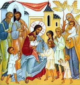 Священная история в пересказе для детей