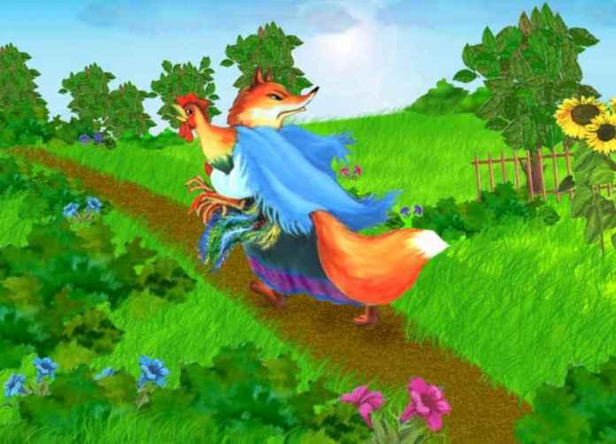 Кот петух и лиса мультфильм и дрозд