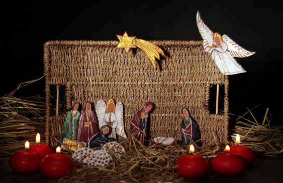 Поделка на рождество вертепы