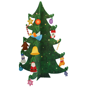 Рождественские елочки своими руками