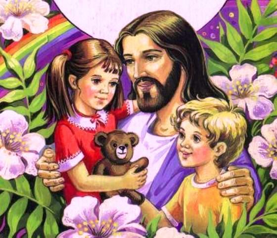 Картинки из детской православной библии